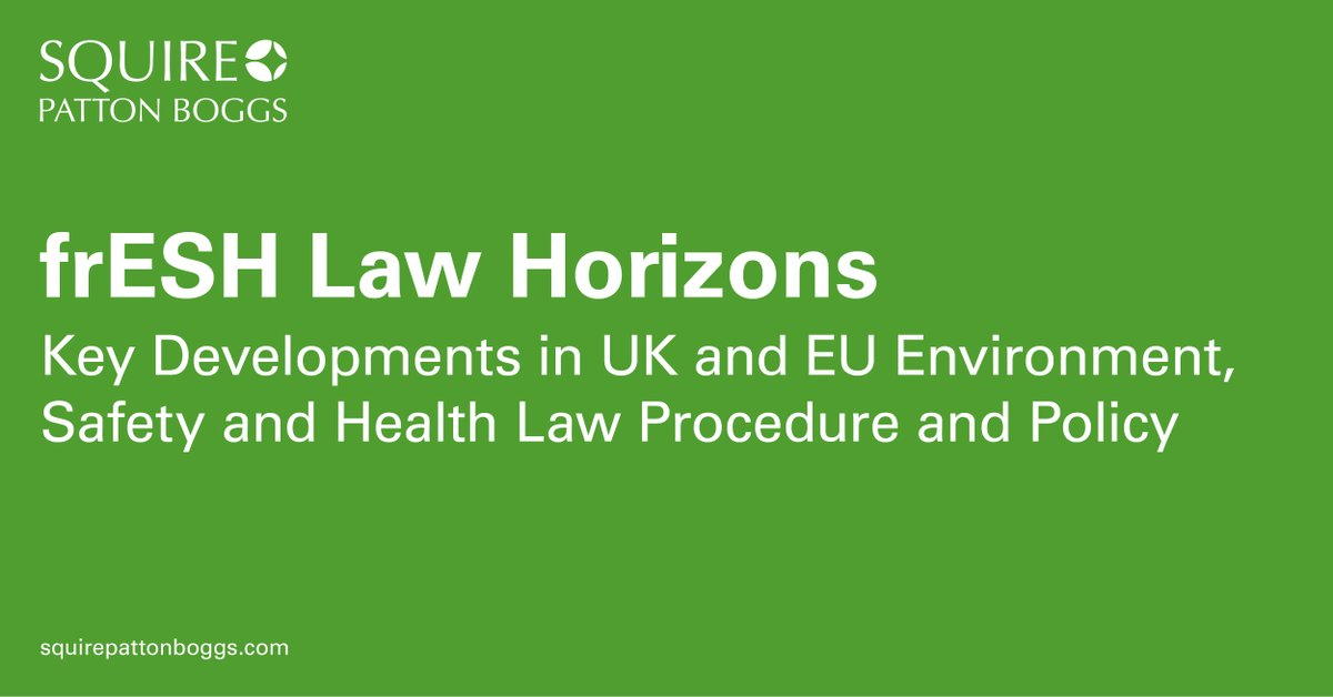 UK #Environmental #Safety & #Health newsletter includes:   @foodgov guidance on reopening/adapting #foodbusinesses  UK Govt publish docs on future EU #trading relationships  @HeathrowAirport granted permission to appeal against 3rd #runway ruling  https://bit.ly/2XXKJUs pic.twitter.com/6cWuhhBqe3