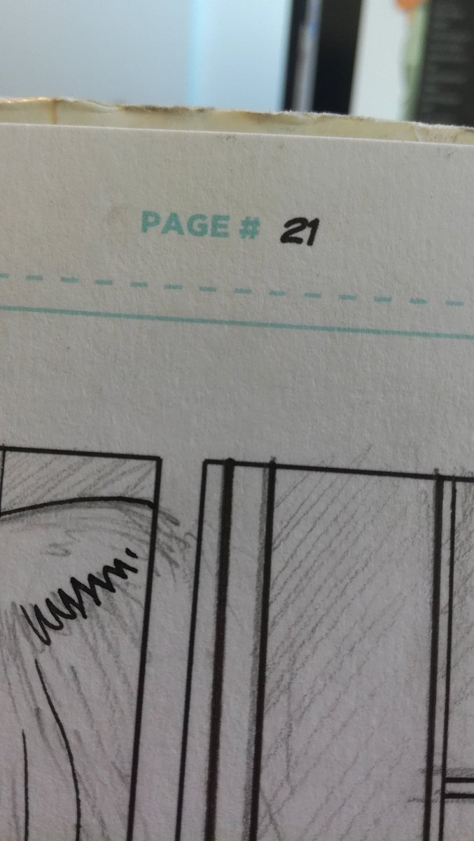 Meanwhile on the drawing board #makingfomics #secret pic.twitter.com/P49vn8JJGg