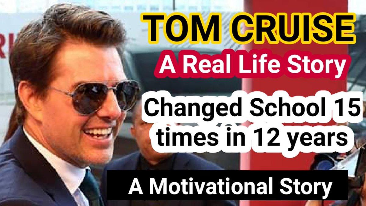 https://t.co/6hdZ882pIy  Watch full video 👆👆👆👆👆👆👆  #TomCruise #TopGun #biography #motivational #inspiration #successstory #Hollywood https://t.co/zl9C95Qt1t