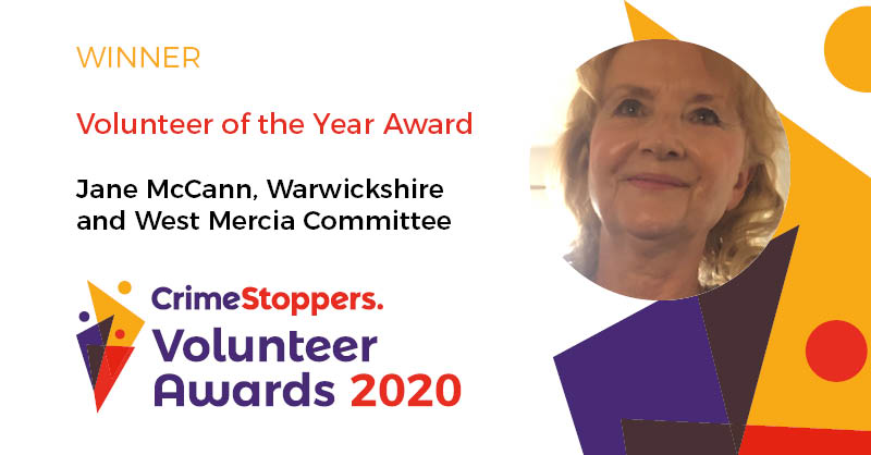 Well done Jane McCann for winning the #Volunteer of the Year Award. Jane is part of our #Warwickshire & West Mercia Committee: bit.ly/2yQJmhJ. This #VolunteersWeek, you might like to know a little more about what our great volunteers do. See bit.ly/2kQaPpb.
