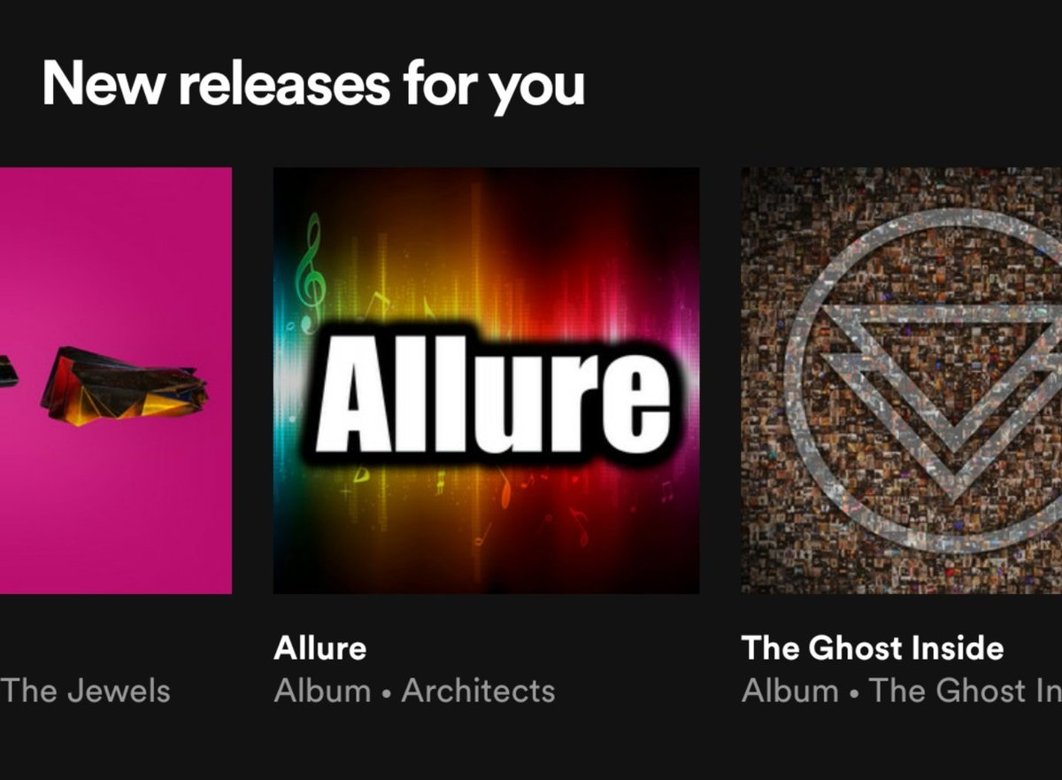 I dunno what Spotify was tripping on this morning but I was cock teased so hard thinking Architects surprise dropped something.   Can confirm this is NOT Architects.pic.twitter.com/PO4K0ogX79