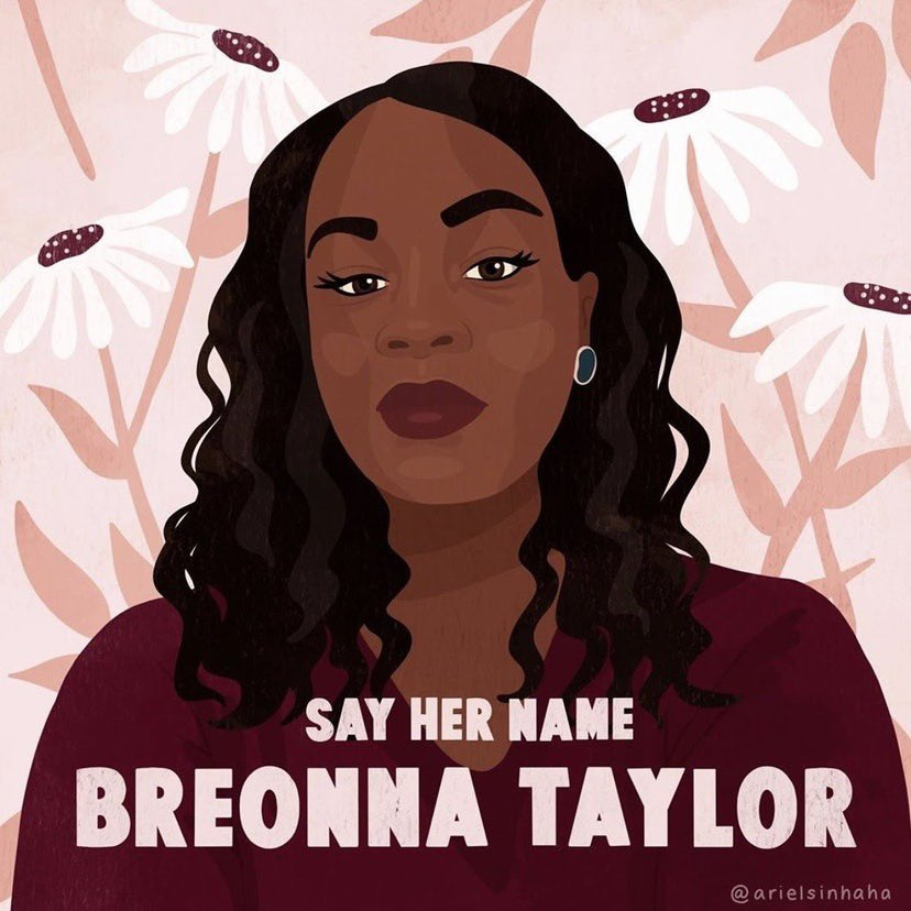 Today is Breonna Taylor's birthday. Instead of celebrating Breonna's 27 years of life, we are calling for justice for her death. The police officers who shot this innocent woman in her own home are still patrolling the streets #JusticeforBreonnaTaylor https://t.co/RrbUTb8rDk