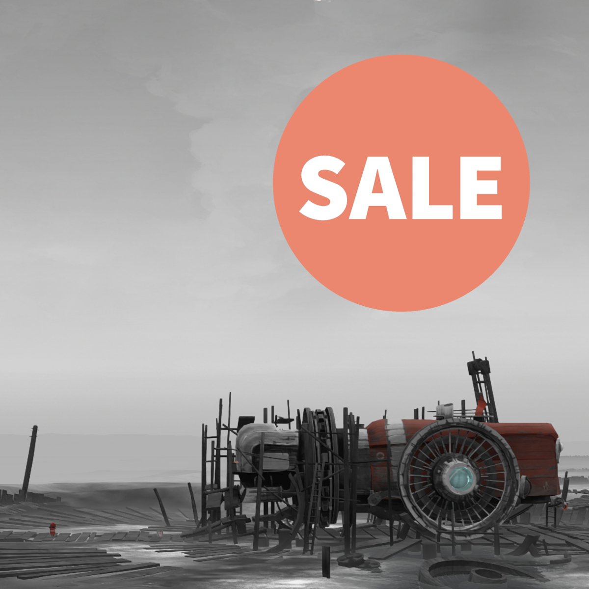 The @NintendoEurope Digital Days Sale is live: Get FAR: Lone Sails 40 % off on your #NintendoSwitch until June 14th 🙌 nintendo.co.uk/Games/Nintendo… #indiegame #indiedev