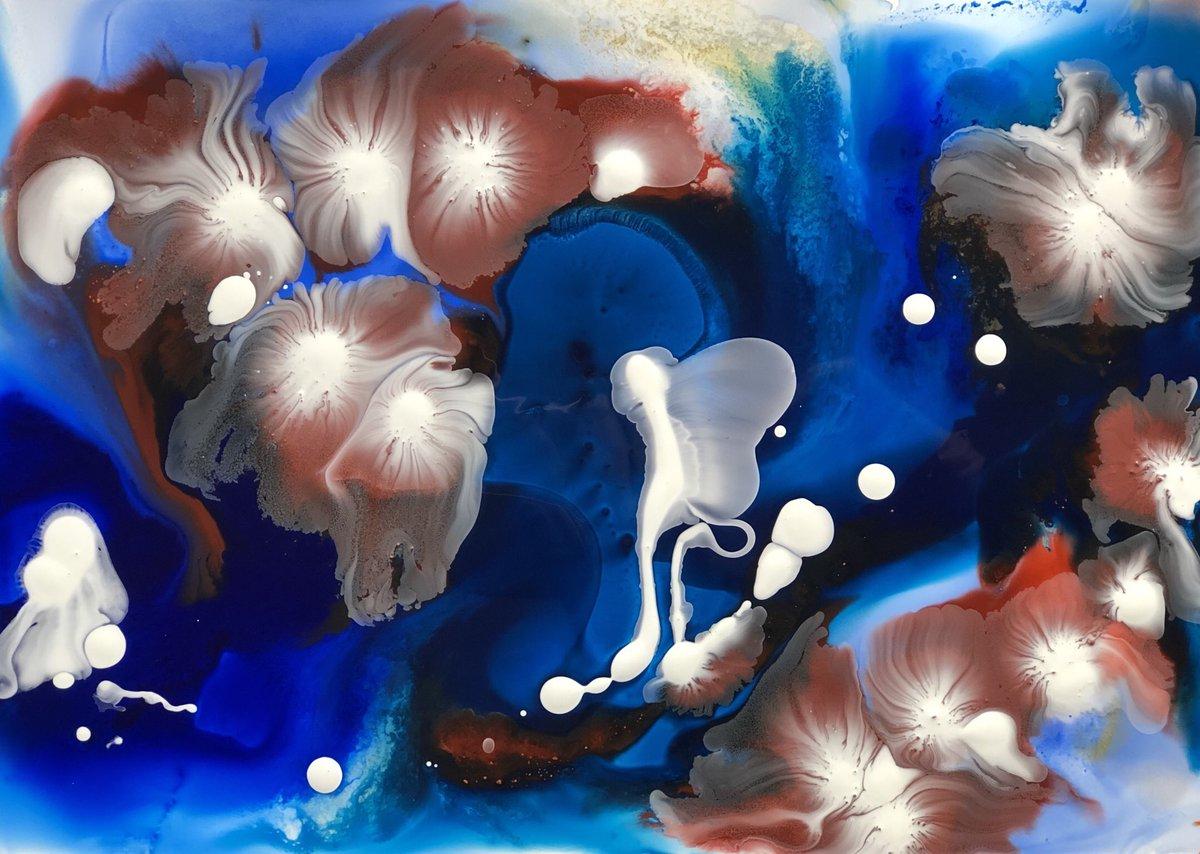 social change ... pushing forward evolution #painting  #scifi #art #socialchange #evolution #blue #earthcolor #whitelightpic.twitter.com/jp6TTH3xyV