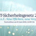 Image for the Tweet beginning: Der #BMI-Referentenentwurf für das #IT-#Sicherheitsgesetz