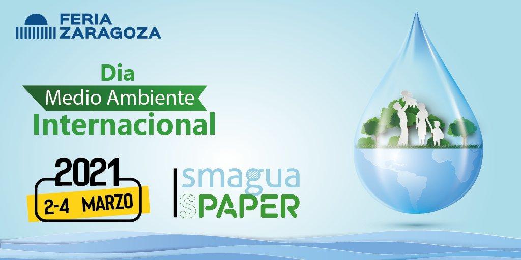 Hoy celebramos el día Internacional del Medio Ambiente. Feria de Zaragoza trabaja en la Sostenibilidad y promueve el Respeto por el Planeta. #SMAGUA2021 #SPAPER2021 #sostenibilidad #reciclaje #innovación https://t.co/UtYyMwNot7