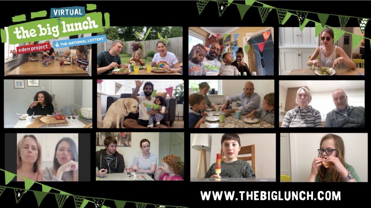 We need to make time for each other. #TheBigLunch is about celebrating community connections. Find out more from @edencommunities and online at bit.ly/3ccT4Ja