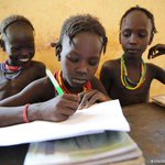 Image for the Tweet beginning: Education means: Less poverty. Better health.
