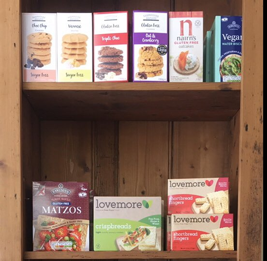 Some of the gluten free, sugar free and wheat free products we sell #glutenfree #wheatfree #sugarfree