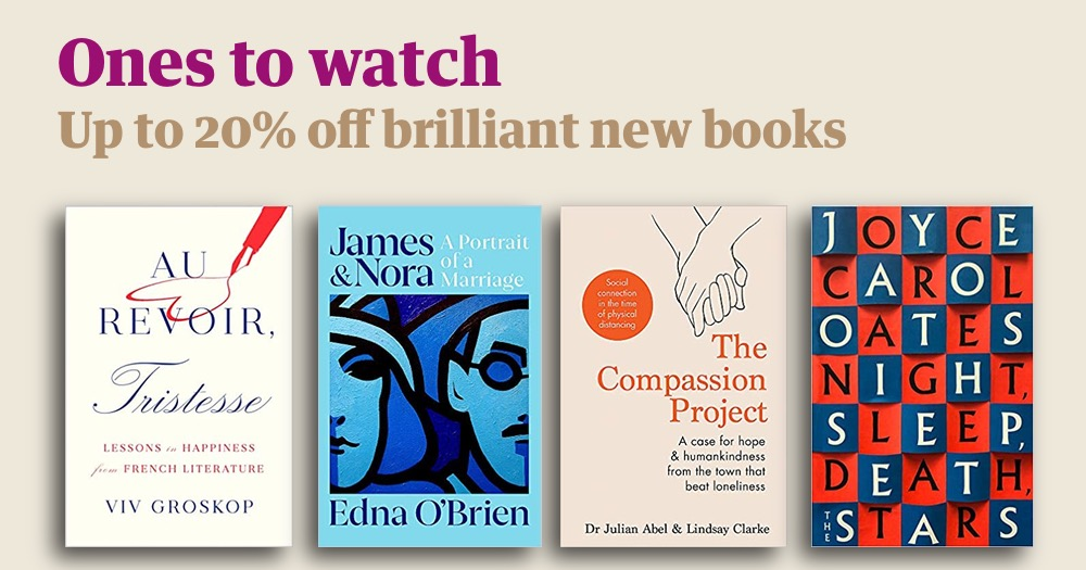 Each month, we update our Ones to watch and New in paperback collections with exciting new titles we think you'll love. Save up to 20% on brilliant fiction and nonfiction at the Guardian Bookshop: guardianbookshop.com/gb-featured-bo…