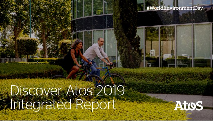 [#WorldEnvironmentDay] In 2019, Atos became the first member of the CAC40 index to publish...