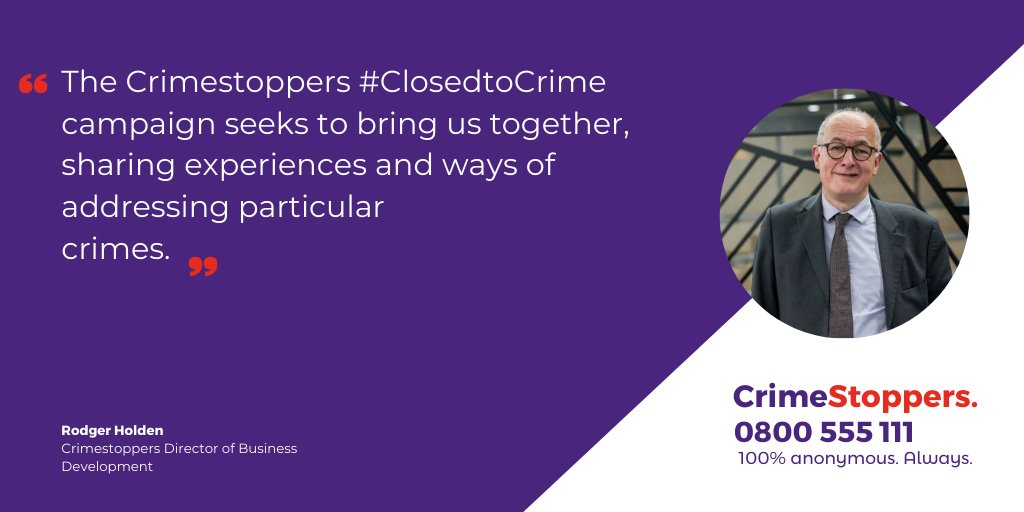 Keeping businesses #ClosedtoCrime is important to ensure they can operate without any issues. Rodger Holden, our Director of Business Development, looks into this issue in our latest #blog: bit.ly/2za26sS.