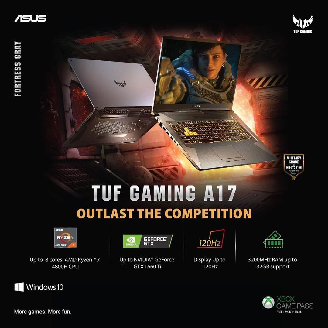 asusindia Ace every task from fast-paced gaming to your professional work assignments with#TUFGaming#A17.Built with AMD Ryzen™4000 series CPU & a GeForce® GTX 1660 Ti GPU #ASUSIndia#Gaminglaptop#AMD#TUFGaming#ASUS#Workfromhome#Gamefromhome#yaanoftech #yaanoftechnologypic.twitter.com/Q9XEHaqNds