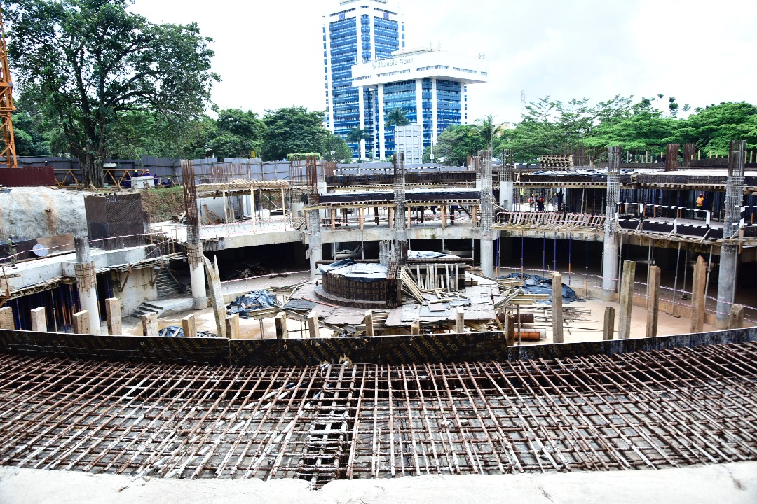 """Rebecca Alitwala Kadaga en Twitter: """"I have toured the site of the new Parliament Chambers, which was expected to be completed by July 2020. So far the contractor, ROKO Construction Ltd, has"""