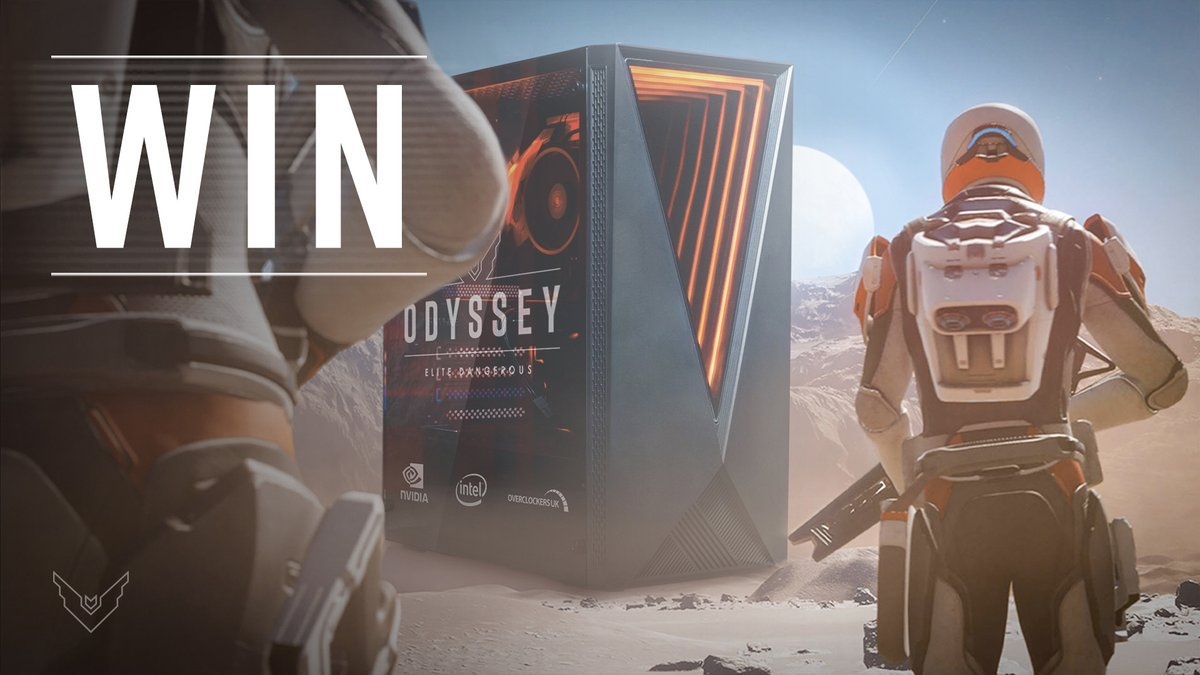 To celebrate the reveal of Elite Dangerous: Odyssey, we've partnered with @OverClockersUK to give away a Kinetic Z4 gaming PC featuring an @Intel processor!   Get involved below: