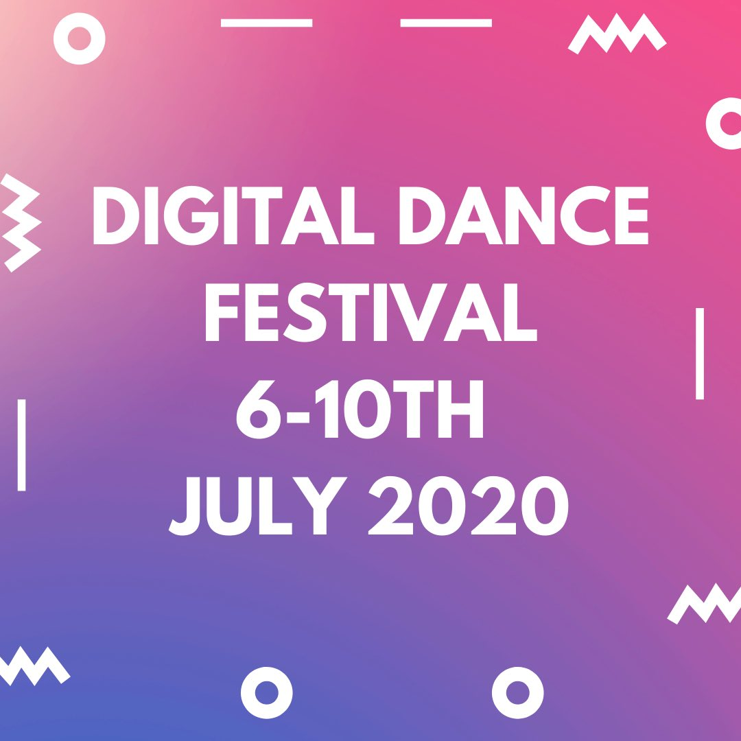 Launch day for my new Digital Dance Festival in July, next month.  Please share with dance lovers! Something for everyone.  More details and bookings open NEXT WEEK  #danceartist #dancer #dance #digitaldance #festival #freelancerpic.twitter.com/jfM7IhsFk7