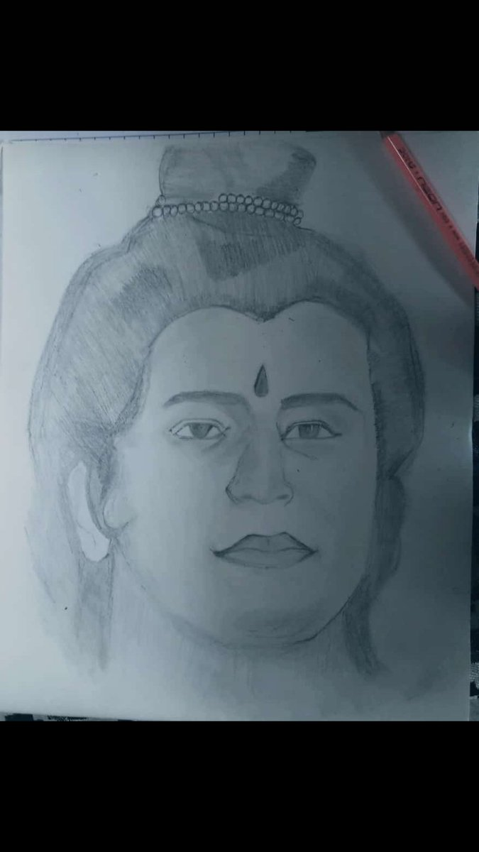 $ketch_Shree Ram @arungovil12  @ChikhliaDipika @LahriSunil    #Ramayan #ramanandsagar #starplus #Peace #Karma #dharma #traditionalart #culture #artworks #drawingsketch #JaiShreeRam  @avraj1008  @artistsofcolour https://t.co/fHFlUb9itp