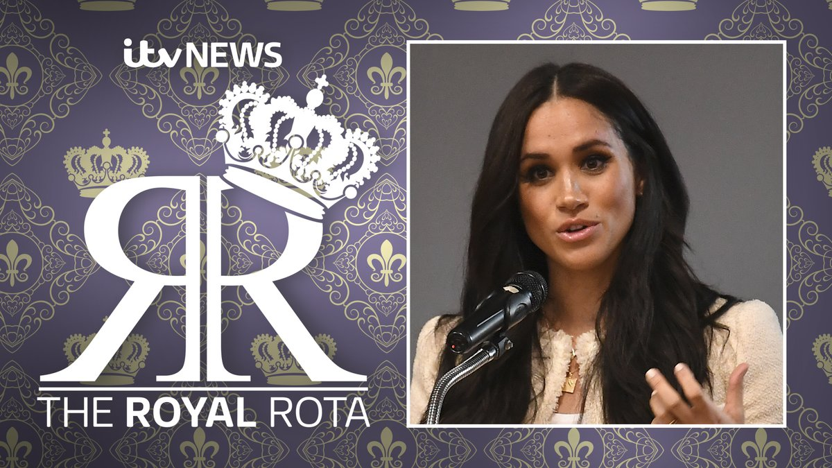 On our royal podcast The Royal Rota this week: @chrisshipitv and @LizzieITV discuss Meghans impassioned speech on the #BlackLivesMatter movement and what the Queen has planned for her birthday. Listen: apple.co/3aqyxji Watch: bit.ly/2Ub9yek #RoyalRotaITV