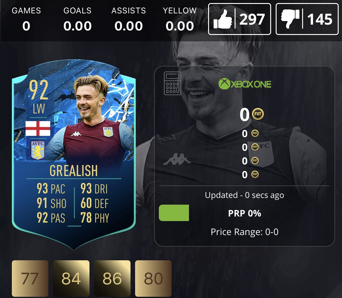 Finally he's got the justice he deserves on #FIFA20 😍 #AVFC