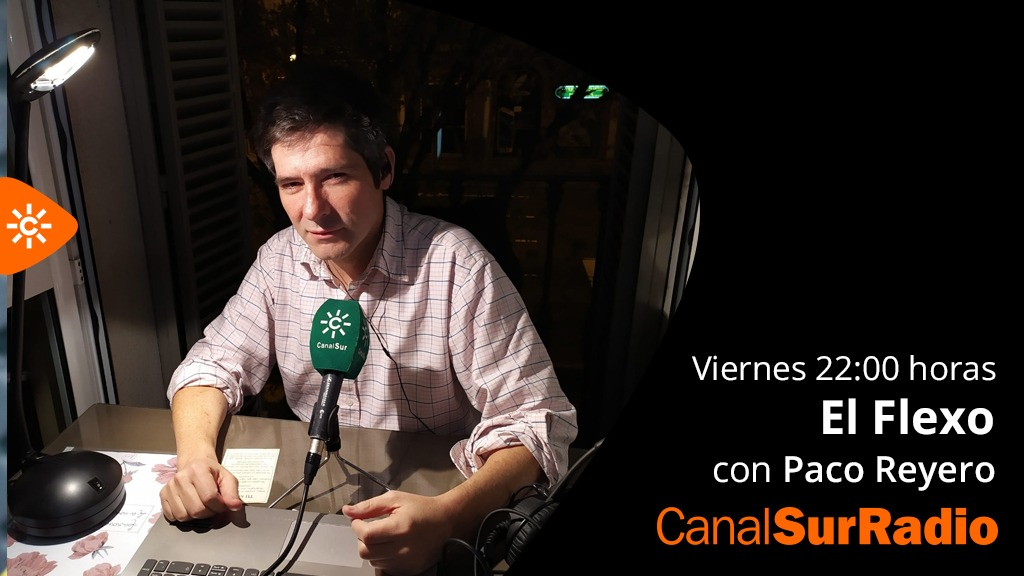 A partir de las 22 horas, hoy, viernes, encendemos @ElFlexoReyero en @CanalSurRadio @canalsur Charla. Música. Atmósfera. https://t.co/9iswRKEZv2