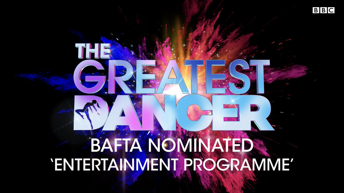 We're delighted that @GreatDancerTV has been nominated for best 'Entertainment Programme' at the #BAFTATV Awards! #GreatestDancer 👯‍♀🕺🎉 https://t.co/Knv0YnHsTk