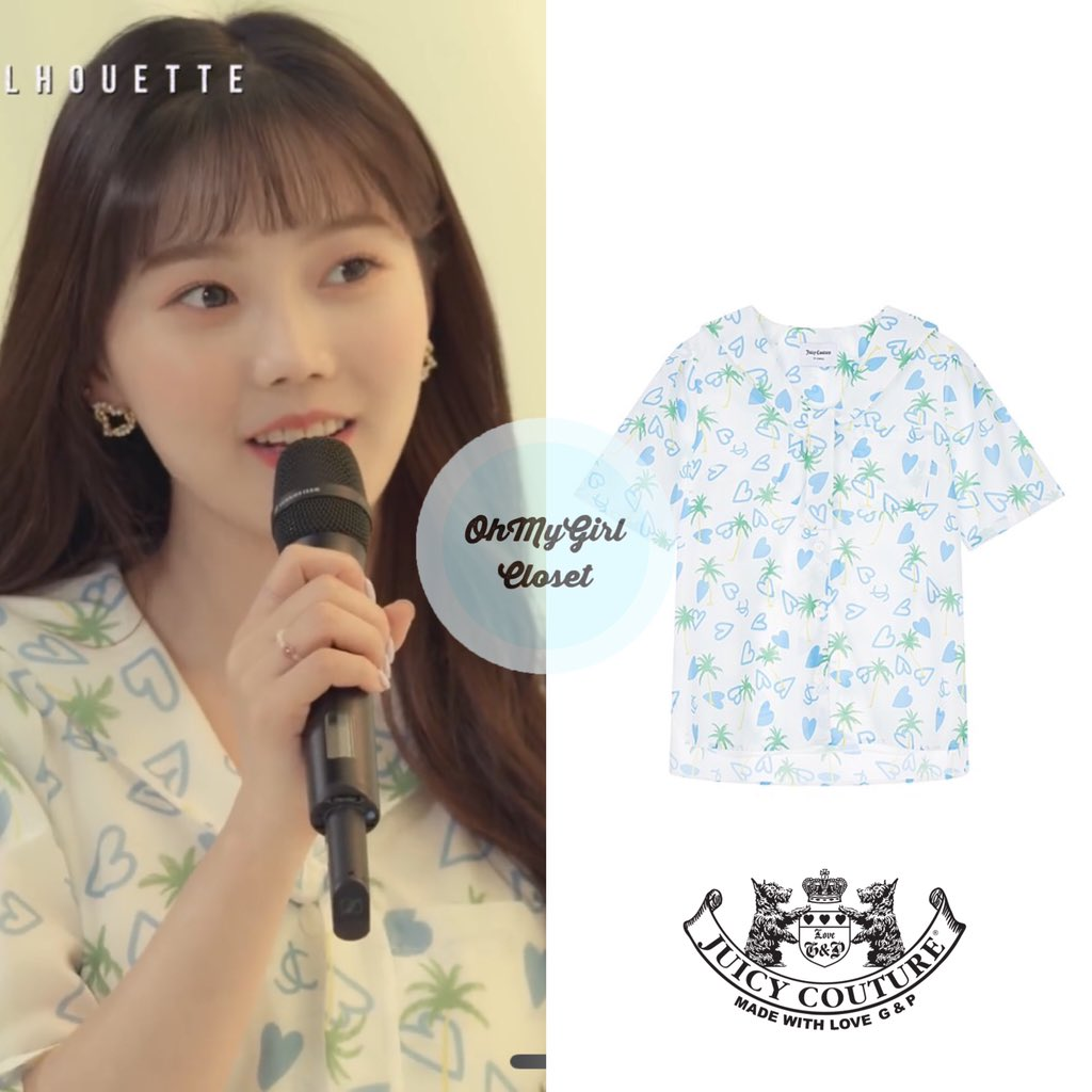 200604 #Hyojung - Aloha cover video wearing  Juicy couture - sailor printing blouse ₩179,000 #ohmygirl_juicycouture #omgc_hyojung  #OHMYGIRL #NONSTOP #효정 #오마이걸 #살짝설렜어 #ohmygirlfashion #ohmygirlstyle #ohmygirlcloset #퀸덤 #Queendom pic.twitter.com/rL4lXtTsok