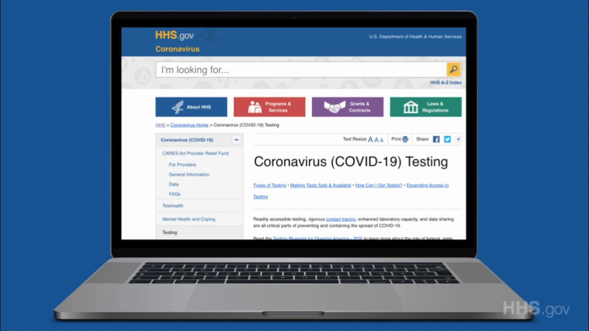 Looking for information about #COVID19 testing? Find the latest – including how to get a test in your community – on our updated #Coronavirus testing page: bit.ly/2Y7Uak2.