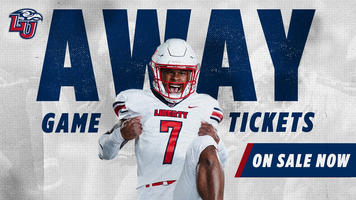 Flames Nation, @LibertyFootball away game tickets are on sale now! Join us on the road for games against VT, NC State, and more.  To purchase, buy online at https://t.co/xMwbzy8Ehl or call (434) 582-7328!   #RiseWithUs #GoFlames https://t.co/VhB700YtGf