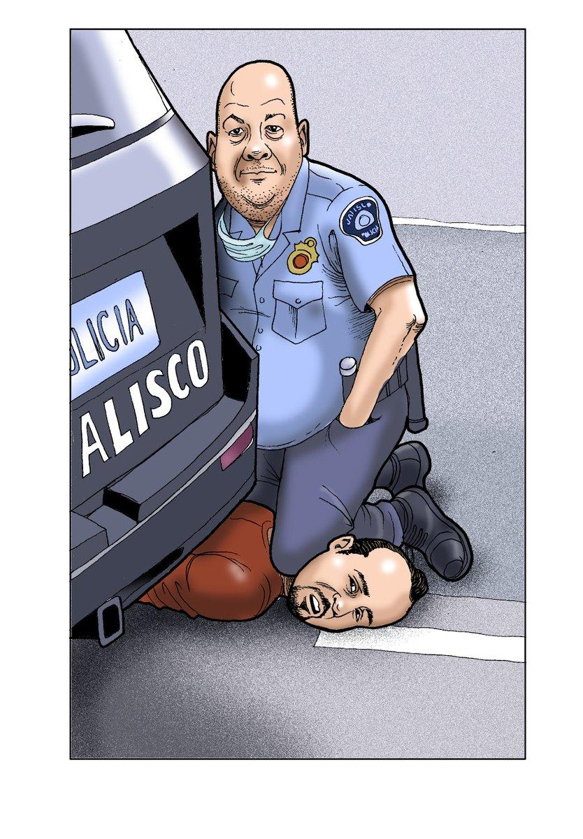 ¿Por qué torturaron y mataron a Giovanni? ¿Por no usar cubrebocas? ¿Para probar que con el gobierno de Jalisco no se juega? ¿La vida de la raza no vale? ¿Es verdad que Alfaro es investigado en EU por sus posibles vínculos con el narco (CJNG)? #AlfaroAsesino #AlfaroRenuncia https://t.co/nR5UNSwioK