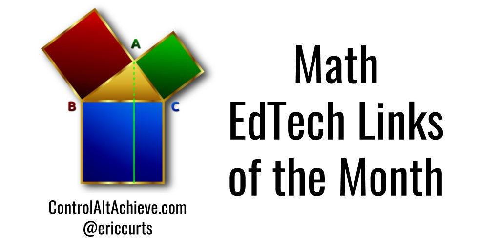 100s of the best Math EdTech links curated each month controlaltachieve.com/p/math-links.h… #mathchat #ControlAltAchieve