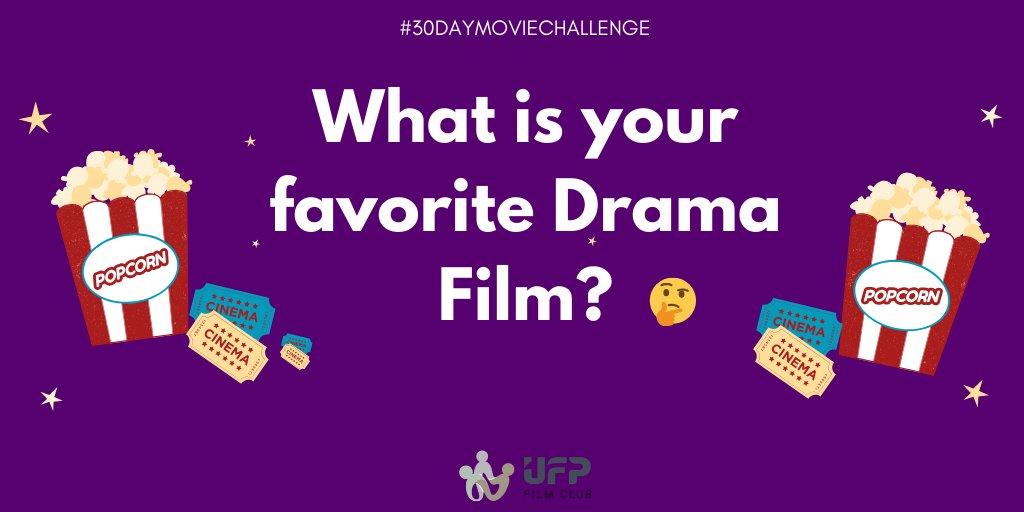 What's your Favorite Drama Film ? #30DayMovieChallenge #Cinema #FeelMore #MovieQuiz #FilmChallenge #Film #Movie #FilmCommunity #FilmLovers #MovieLovers #Challenge #UFPFilmClub #FilmClub #LondonFilms #LondonFilmClub #Entertainment #Movies #Cinephilia #DramaMoviepic.twitter.com/cfICbQMzGT