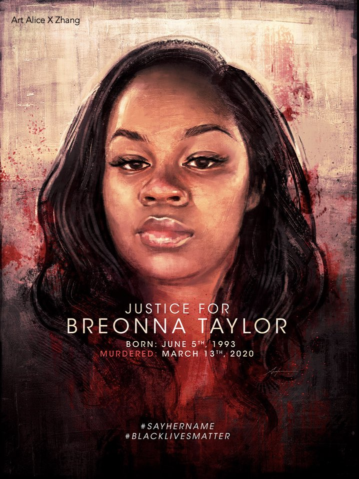 Happy Birthday Breonna. We won't rest in peace until this anti-social system is buried.