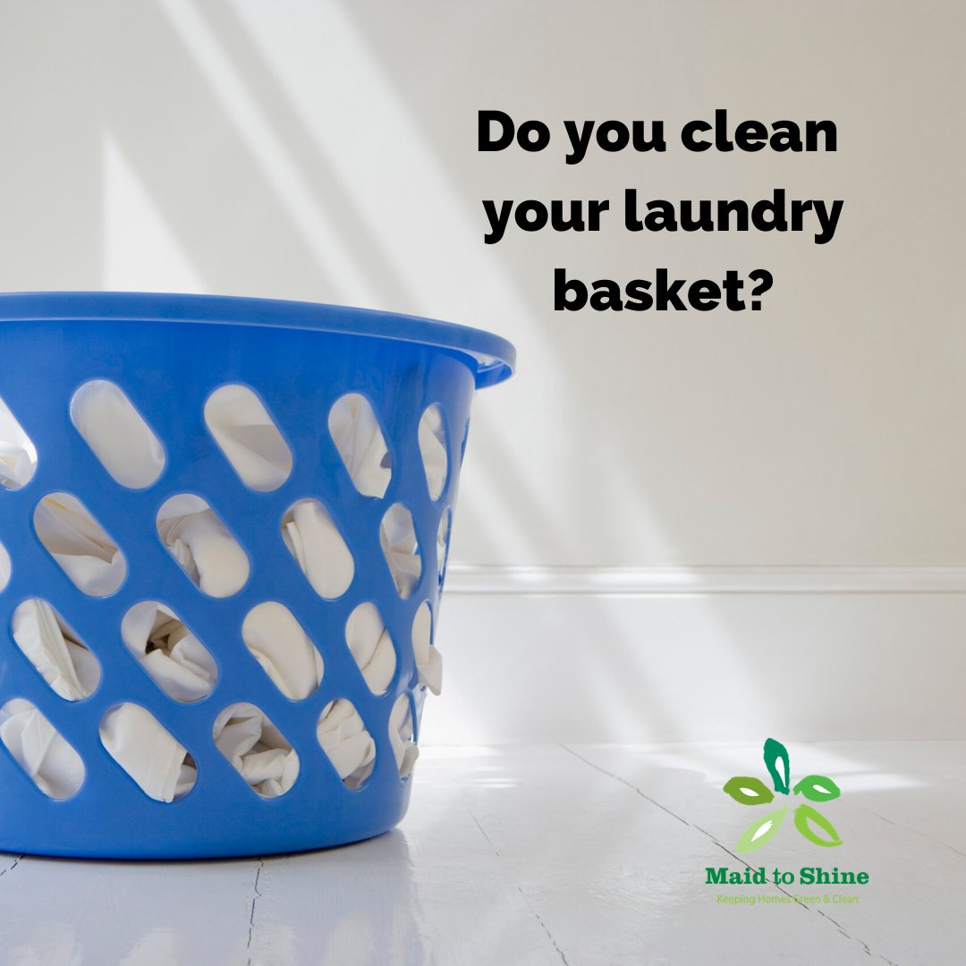You clean your laundry but do you clean your laundry basket?  Disinfecting all parts of your laundry routine is important to keep germs at bay. Be sure to wipe down and sanitize after emptying the dirty clothes out of the laundry basket.  #howcleanisyourbasket #cleaningtips pic.twitter.com/lfcGI80rKv