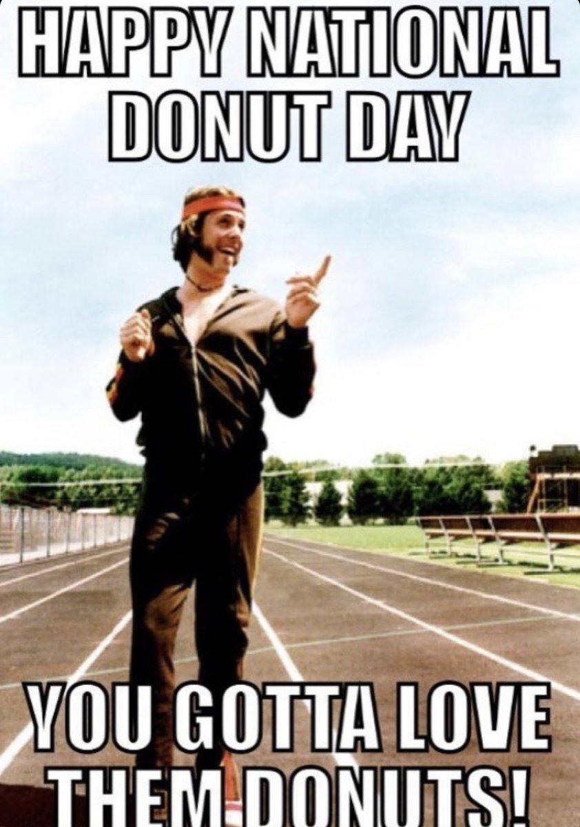 Happy National Donut Day! #nationalDonutDay