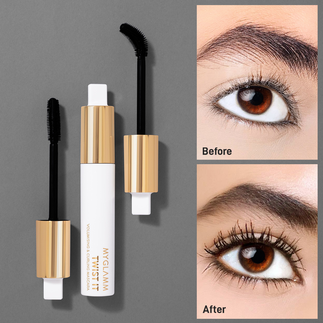 Does the Twist It Mascara make a difference? Absolutely!!  Volume, length and goddess vibes - Check  . . . . . #MyGlamm #myglammCARES #TwistIt #Volume #Definition #Mascara #Mascaras #MakeupLook #MakeupTips #MakeupTutorials #CrueltyFree #Vegan #Makeup  pic.twitter.com/7slsSzqNFZ