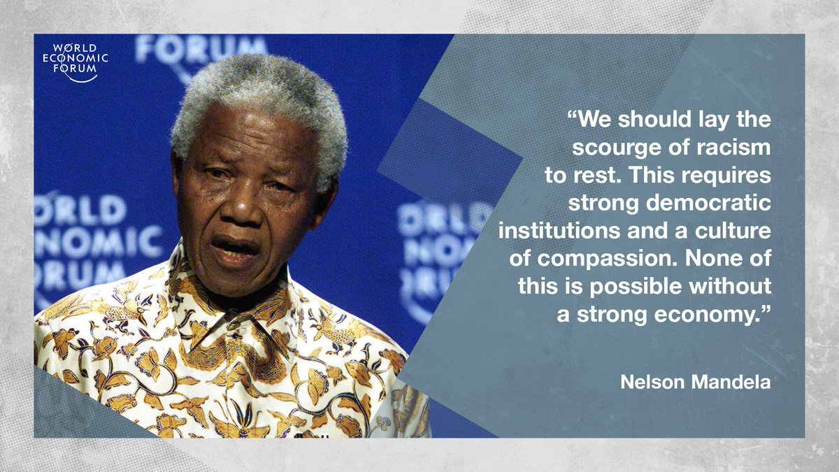 Quote of the Day from the late Nelson Mandela. #racism #equality
