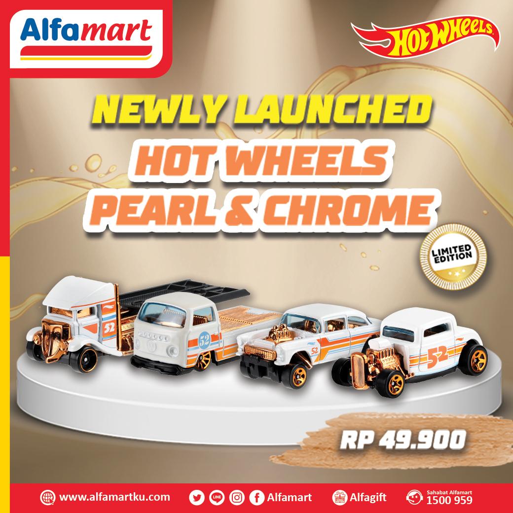 Alfamart On Twitter Newly Launched Dapatkan Seri Hot Wheel Pearl Chrome Favoritmu Yang Kini Sudah Bisa Sahabat Dapatkan Di Alfamart Terdekat Jadi Tunggu Apalagi Koleksi Semua Hot Wheels Favoritmu Sebelum Kehabisan