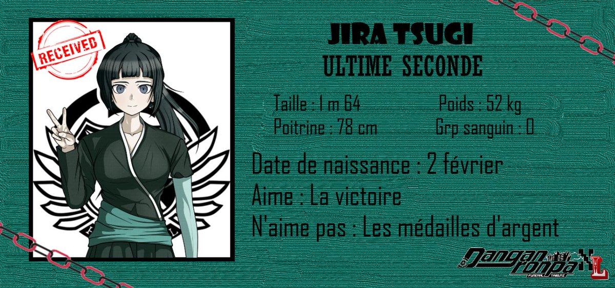Nouvelle vidéo ! Et voici l'ID Card de Jira Tsugi, Ultime Seconde. La vidéo : https://www.youtube.com/watch?v=mtX2G0Ffjbs…pic.twitter.com/DqBNVZ0CmV
