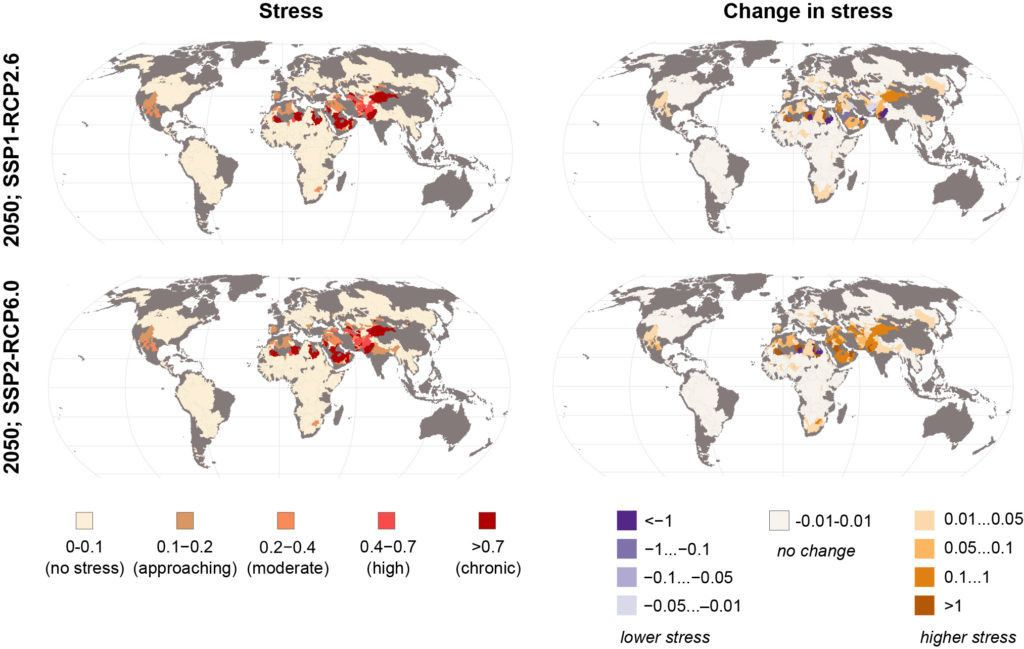 Those facing water stress could double to 380 million by 2050, study bit.ly/3eRYCdB #Water #Security