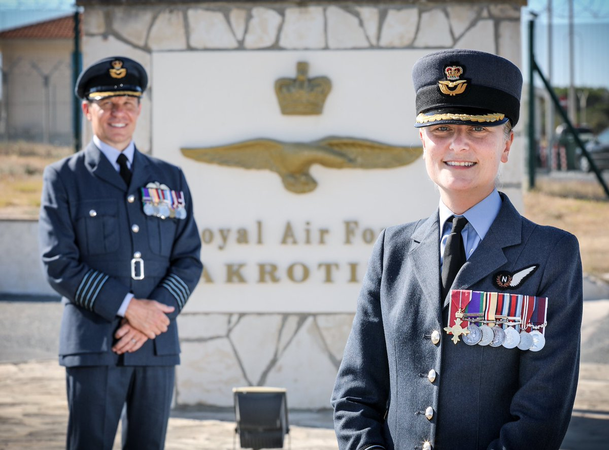It is with both pride and pleasure that I hand over the reins of RAF Akrotiri to the new Station Commander, Gp Capt Nikki Thomas. A humbling two years in an incredible place. Together we have delivered so much; thank you to everyone within our special community. https://t.co/9SQHdkKCeg