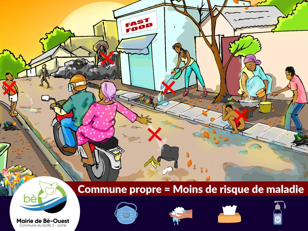 Gardons nos communes #saines et #propres.  #Golfe3 https://t.co/3vGGcLzNlK