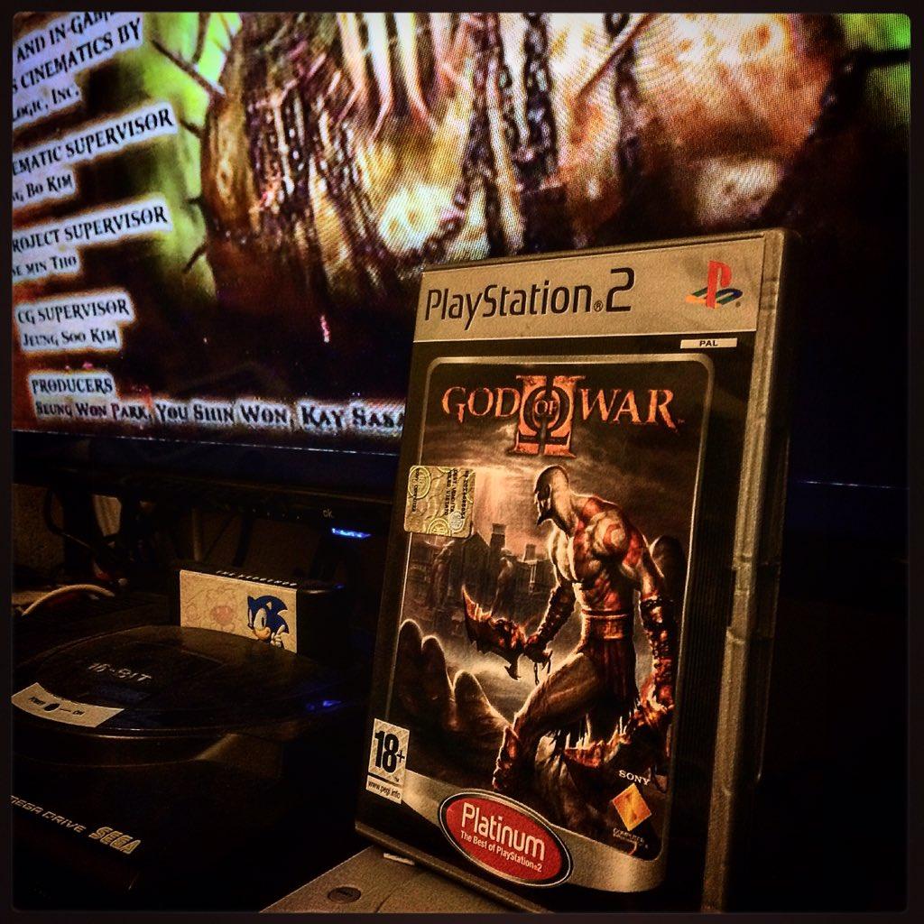 OMG!  (God of War 2) #godofwar #ps2 #playstation #santamonica #letsplay #game #gamer #nerd #gamecollection #gamecollector #retrogaming #vintage #classic #theend #theendbegins #player #playerinside #sony #sega #megadrive #sonicpic.twitter.com/nM3txmHlEx