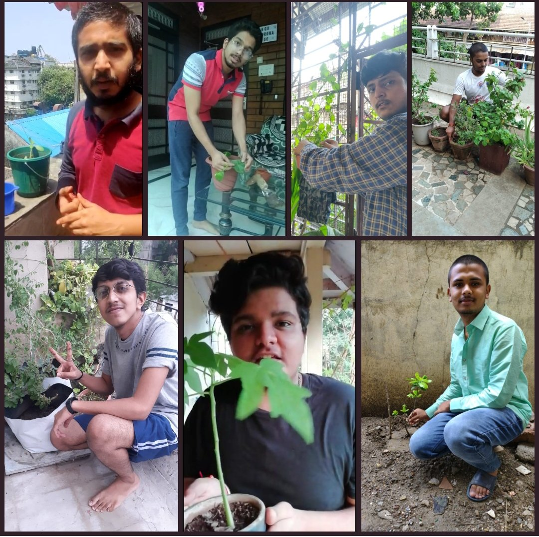 ABVP South Mumbai celebrates the World Environment Day in a traditional manner- by caring and nurturing for young saplings and paving way for a green country. #WorldEnvironmentDay #ABVP