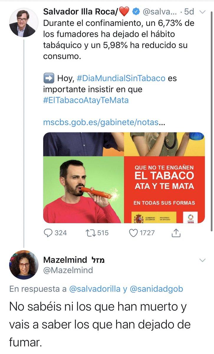 Zasca!!!!!!!!!!!!!! de @Mazelmind a @salvadorilla . Vía @JTonioAnJ https://t.co/8ei0Ul0x1x