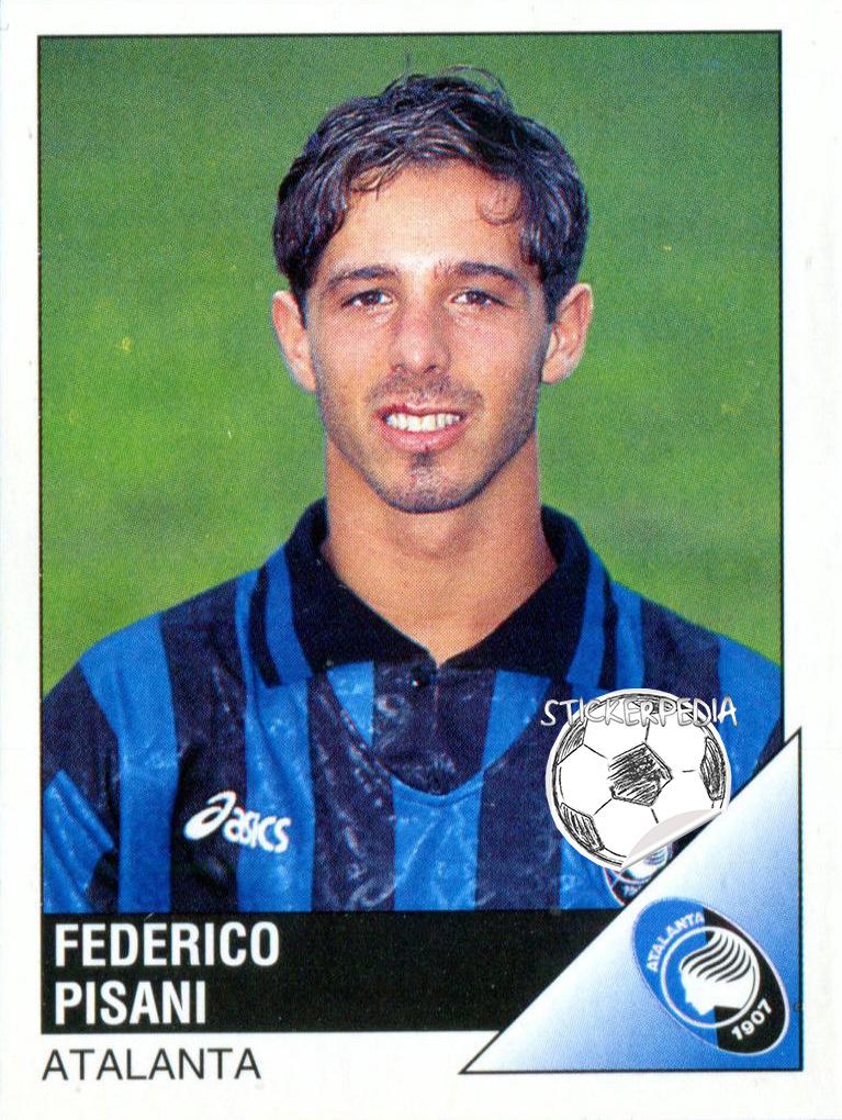 "Stickerpedia on Twitter: ""Federico Pisani Atalanta 1995-96… """