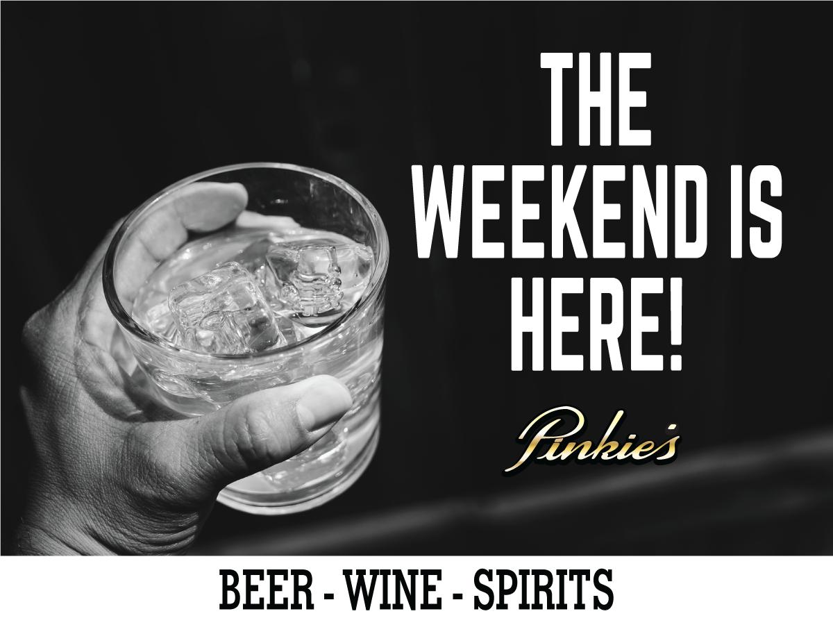 The Weekend is here! #Beer #Win #Spirits pic.twitter.com/SSGBwQtKrN