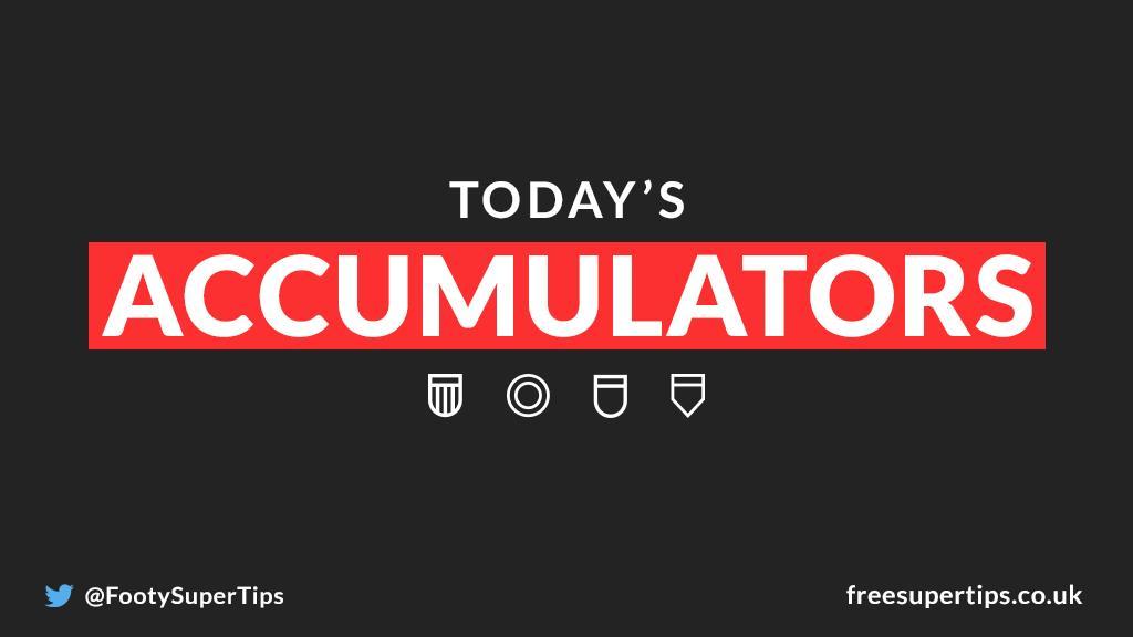 Todays football predictions! 💥 131/1 Mega Accumulator 🌟 14/1 Saturday Accumulator ⚽ Bundesliga 2 Goals Accumulator 🔢 119/1 Correct Score Double ✅ 8/1, 5/1 & 4/1 winners in the last 6 days! BET HERE ▶ freesupertips.com/free-football-… (18+ begambleaware.org)