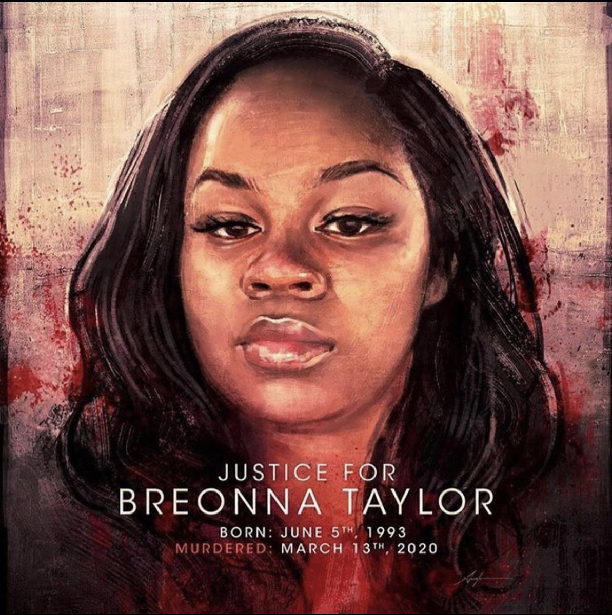 Benjamin Dixon On Twitter Happybirthdaybreonnataylor Justiceforbreonnataylor Weveseenenough If Anyone Knows Who The Artist Is Or Their Social Media Accounts Please Reply Below So I Can Give Them Their Credit For This Amazing