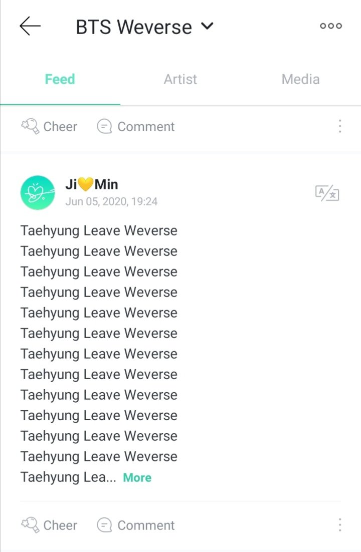 WTF DID I JUST SAW!!! PLEASE TAEHYUNGISTS POST SOMETHING GOOD FOR TAEHYUNG PJMS ARE THERE THROWING HATE🙏🙏!! https://t.co/QoAlfMFZvC