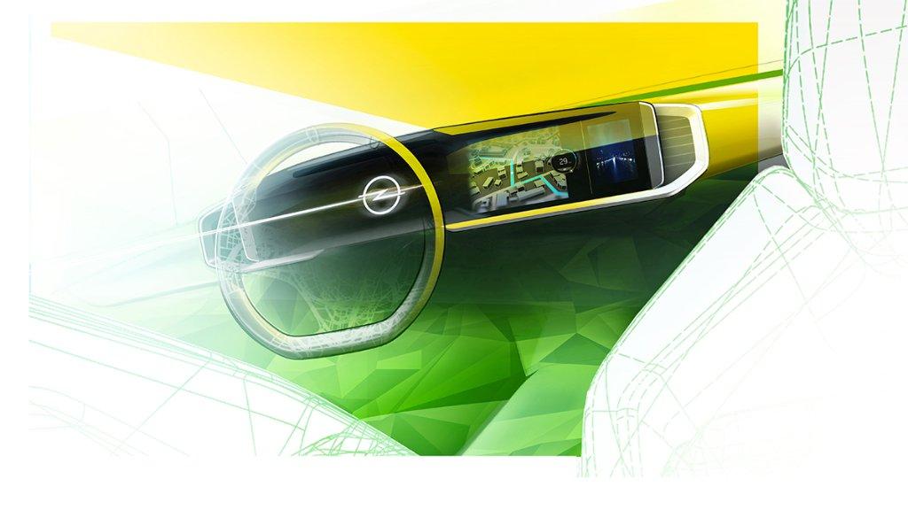 Voll digital: Neuer Mokka erstes Modell mit zukünftigem Opel-Cockpit! Freut ihr euch schon auf den neuen #OpelMokka? Mehr Infos: s.opel.com/cfw9p